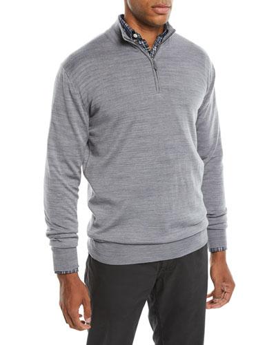 Men's Are Quarter-Zip Merino Sweater