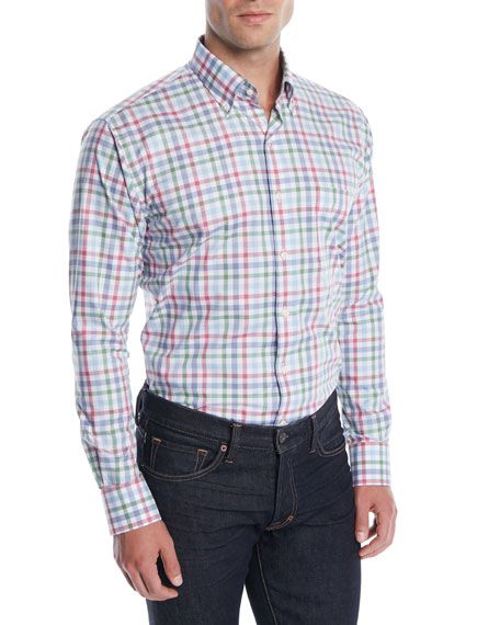Men's Crown Ease Arendale Check Sport Shirt