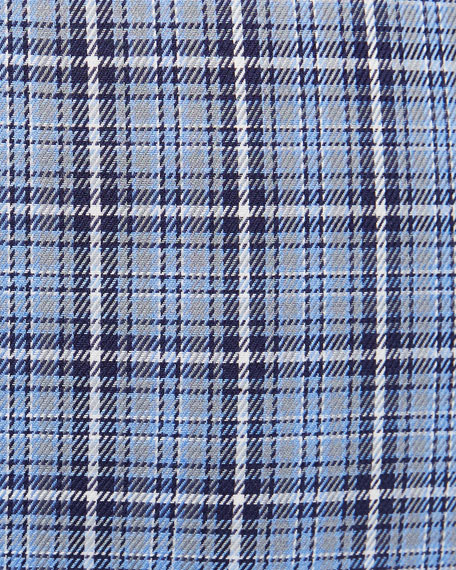Peter Millar Men's Crown Fleece Briar Hill Tartan Sport Shirt