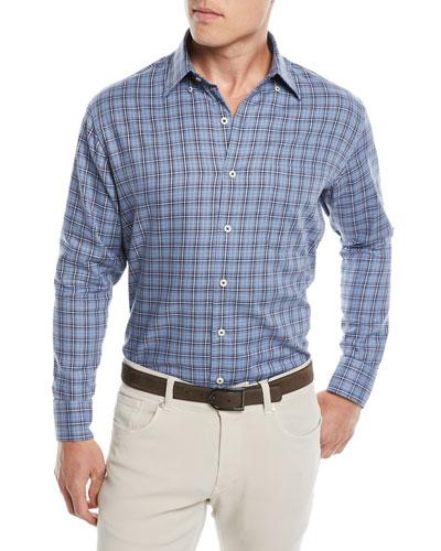 Men's Crown Fleece Briar Hill Tartan Sport Shirt