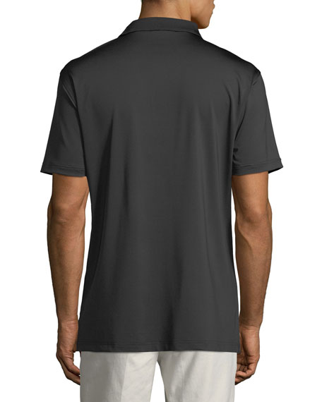 Men's Stretch-Jersey Polo Shirt