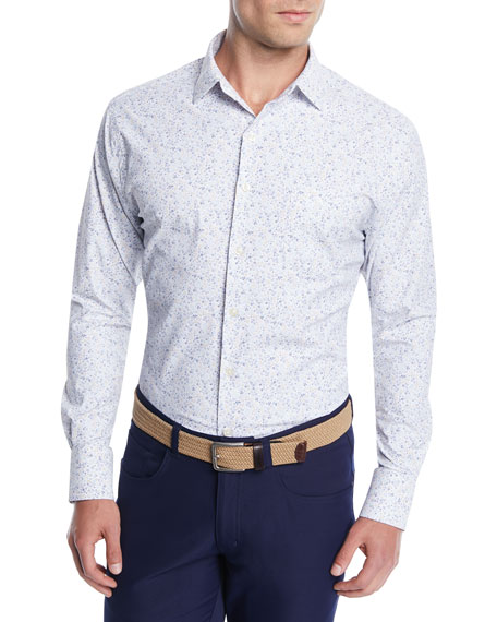 Men's Foster Floral Performance Sport Shirt