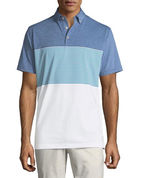 Men's Craig Lambeth Stripe Performance Polo Shirt