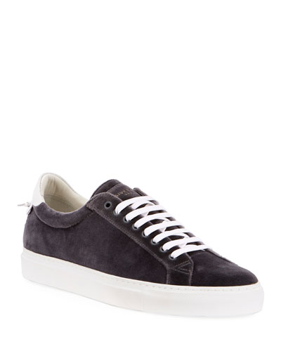 Men's Urban Street Velvet Low-Top Sneaker