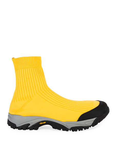 Men's Security High-Top Sock Running Sneakers