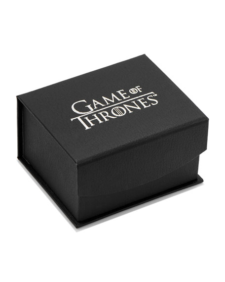 Cufflinks Inc. Game of Thrones Stark Filigree Stainless Steel Cufflinks