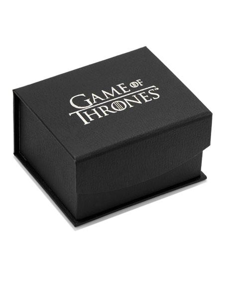 Game of Thrones Targaryen Filigree Stainless Steel Cufflinks