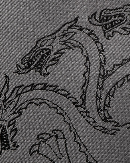 Game of Thrones Targaryen Large-Sigil Silk Tie