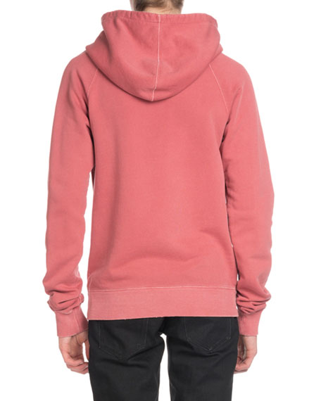 Men's Rive Gauche Cotton Pullover Hoodie Sweatshirt
