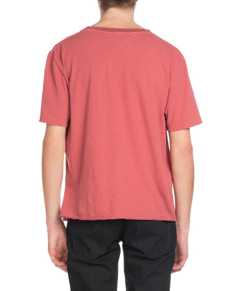 Men's Rive Gauche Enzyme-Wash T-Shirt