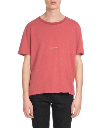Men's Rive Gauche Enzyme-Wash T-Shirt