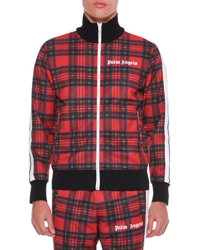 Men's Royal Stewart Tartan Track Jacket