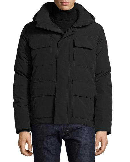 Maitland Hooded Parka, Black
