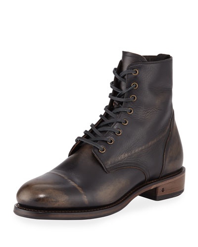 Men's Folsom Leather Lace-Up Boot