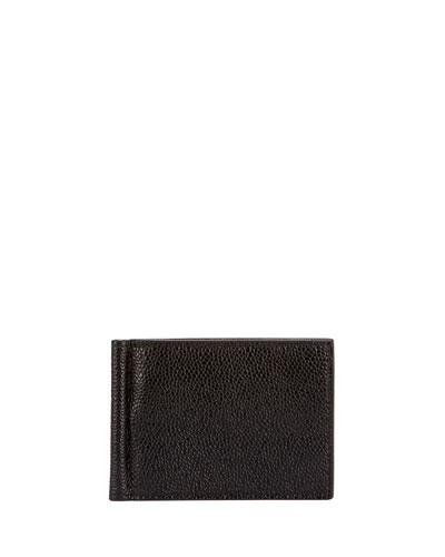 Men's Leather Wallet w/ Money Clip