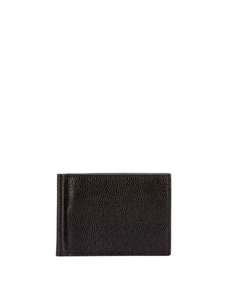 Men's Leather Wallet w/ Money Clip