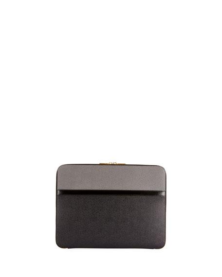 Men's Colorblock Leather Document Holder