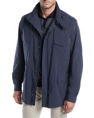 f3cb7c8295e1 Loro Piana Men s Traveler Windmate Storm System Jacket