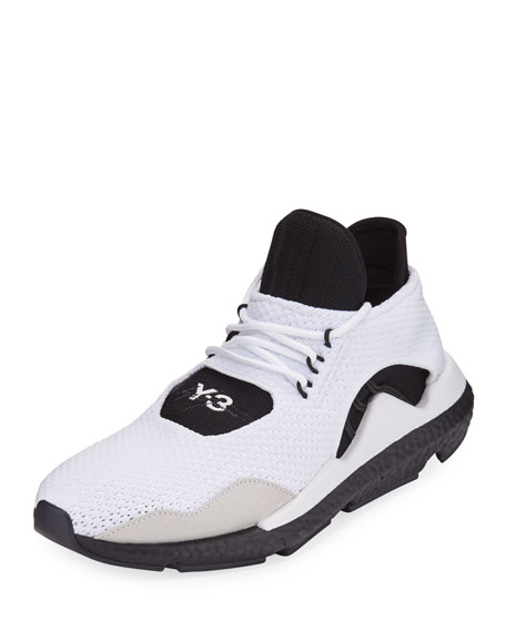 Y-3 Men's Saikou Boost Prime-Knit Sneakers