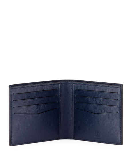 Cadogan Engine Turn 8CC Billfold Wallet