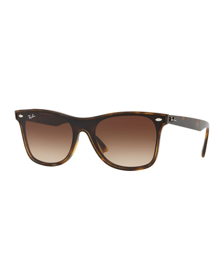 Ray-Ban Men's Blaze Wayfarer Lens-Over-Frame Square Gradient