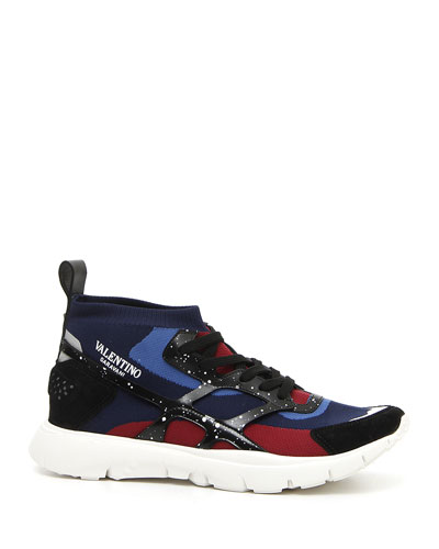 Men's Speckled Sound High Sneakers