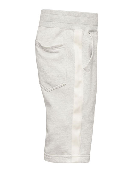 Men's Core Stripe Loose Sweat Shorts
