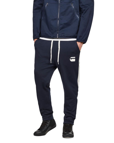 G-Star Men's Core Striped Sweatpants
