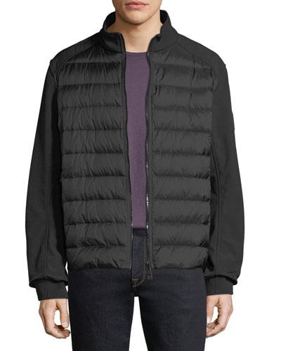 Men's Harpford Soft-Shell Down Puffer Jacket