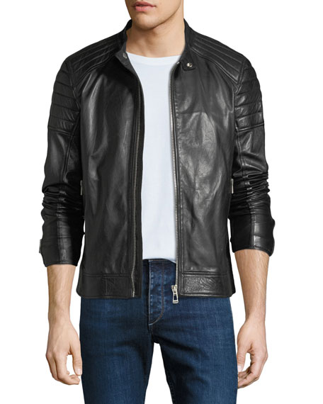 Men's Northcott Tumbled Leather Jacket