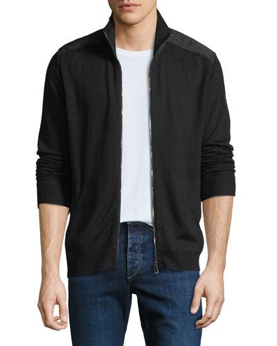 Men's Coombewood Wool Zip-Front Jacket