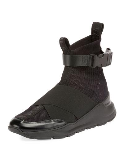 Men's Knit High-Top Sock Sneakers