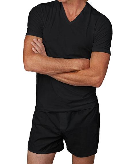 Men's 3-Pack Cotton V-Neck T-Shirts