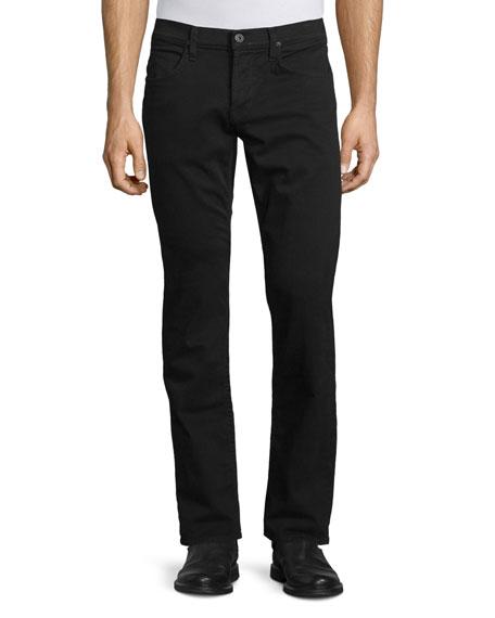 Byron Five-Pocket Pants, Jet Black