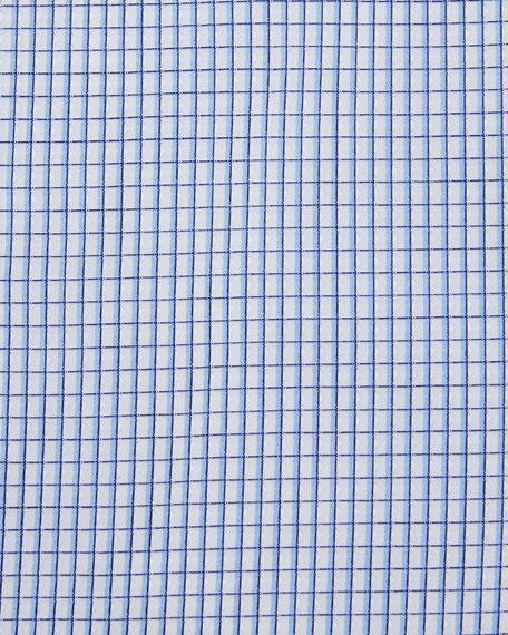Micro-Graph Cotton Dress Shirt