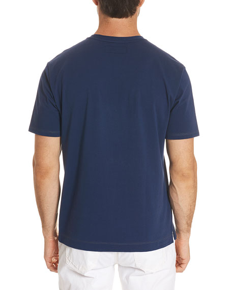 Solid Cotton Jersey T-Shirt