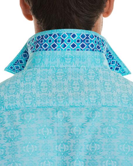 Cullen Squared Short-Sleeve Sport Shirt