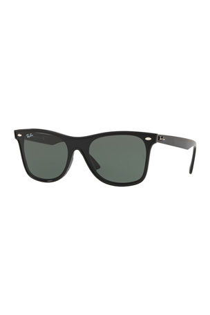 Ray-Ban Men's Blaze Wayfarer Lens-Over-Frame Square Sunglasses
