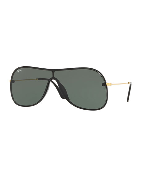 Ray-Ban Men's Lens-Over-Frame Aviator Sunglasses