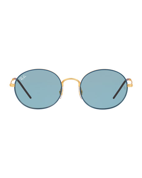 Men's RB3594 Round Sunglasses, Blue