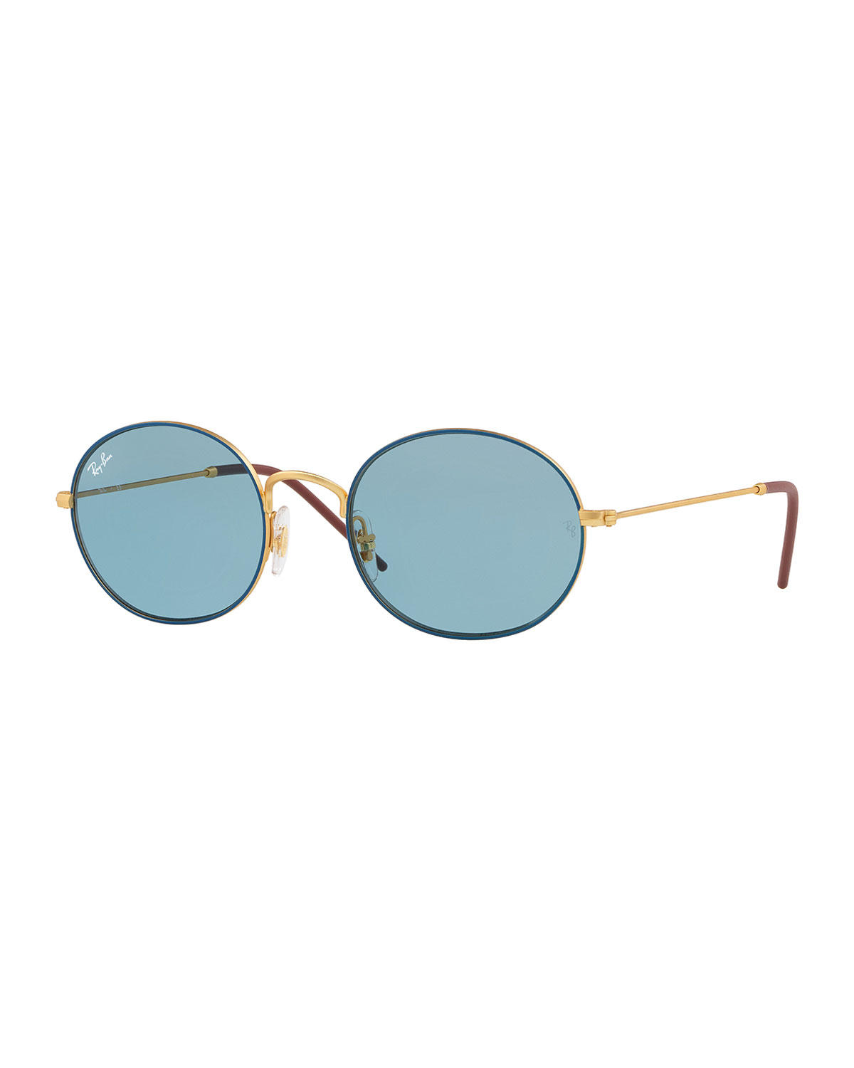 d629840ba7 Ray-Ban Men s RB3594 Round Sunglasses