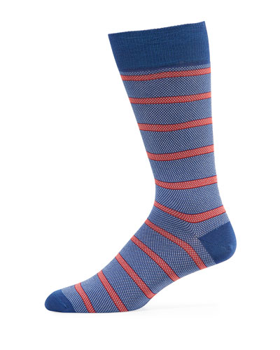 Men's Oxford Stripe Socks