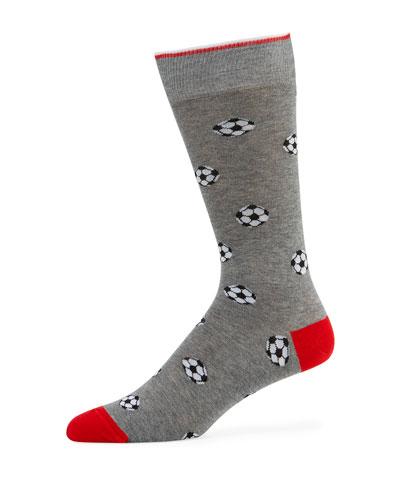 Men's Soccer Ball Socks