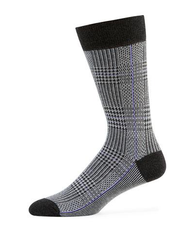 Men's Glen Plaid Socks
