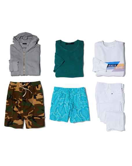 Men's Tribeca Camo Cargo Shorts