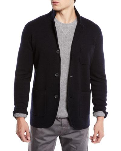 Men's Lightweight Merino Sweater Jacket
