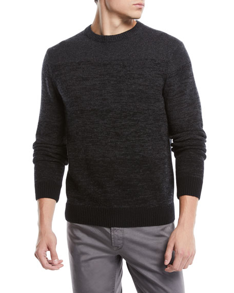 Men's Ombre Wool-Cashmere Sweater