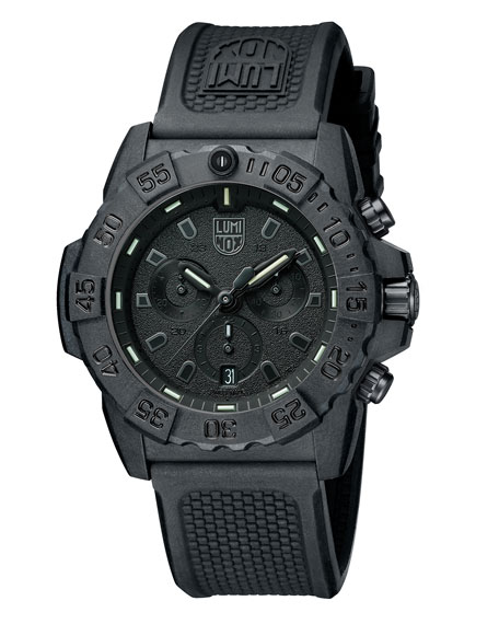 Men's Navy SEAL Chronograph Watch, Black