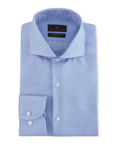 Ike Behar Men's Jeffrey Micro-Pattern Dress Shirt