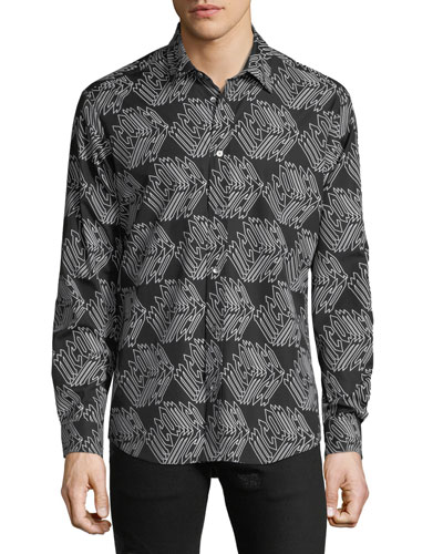 Men's Shields Cotton Sport Shirt